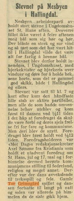 grimsgard stevne 1923